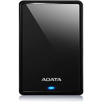 ADATA HV620S External Hard Drive Slim and Light with USB 3.1 (1TB, Black)