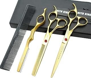 gold hair scissors