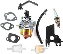 AISEN Carburetor for PepBoys Wen Power Pro 2200 3500 Watts PowerPro 5.5HP 6.5HP Gasoline Generator Spark Plug