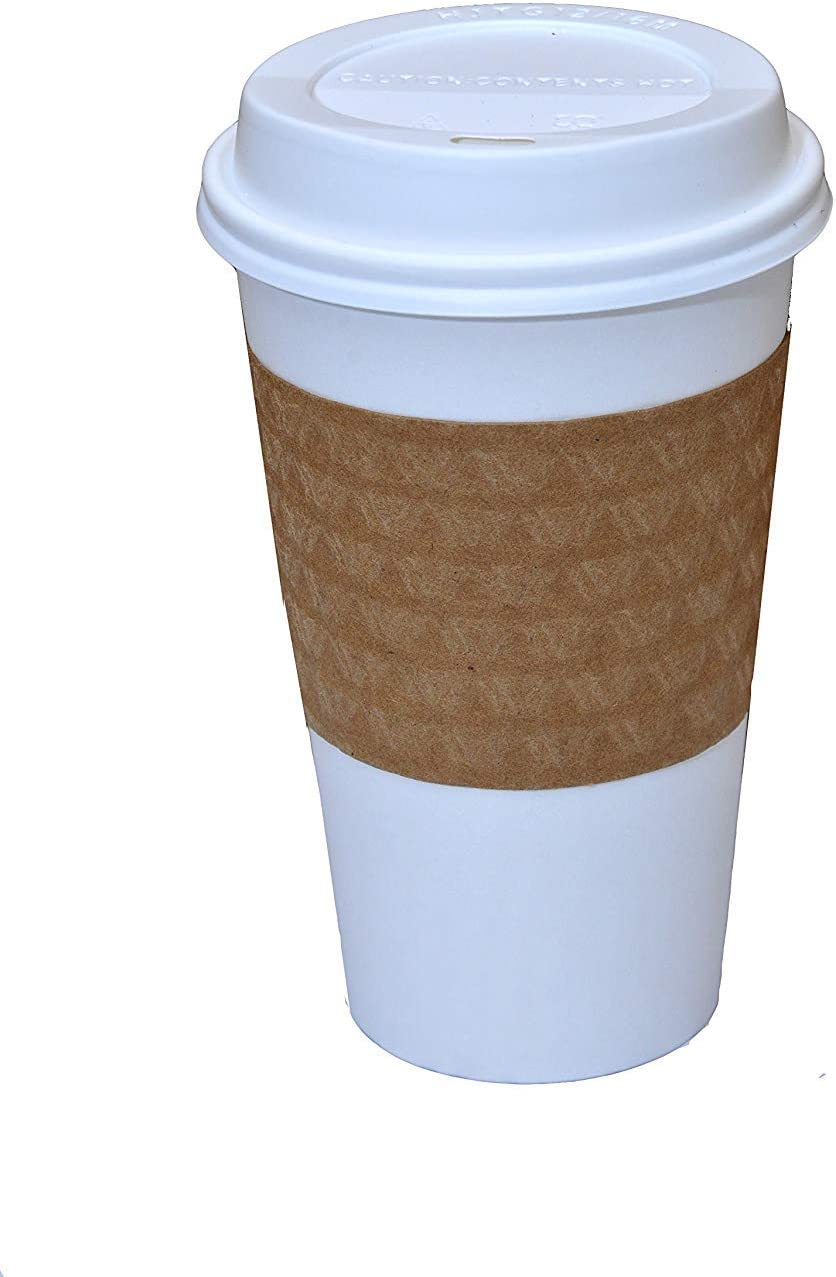 100 Ranking TOP17 Paper Coffee Cup Disposable Hot 16 Ca oz. Regular discount WHITE with