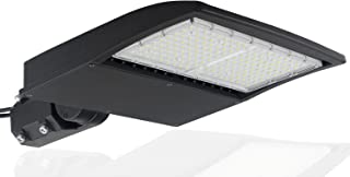 150 Watt NextGen 2 LED Parking Lot Lights - 20,060 Lumen - Super Efficiency 130 Lumen to Watt - 5000K Bright White - Replaces 500W Halide - LED Shoebox Lights -Slip Fit Mount - DLC Premium
