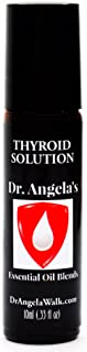 Dr. Angela Walk Thyroid Solution Essential Oil Blend | 100% Pure Therapeutic Grade Frankincense, Myrrh, Lemongrass, Clary ...