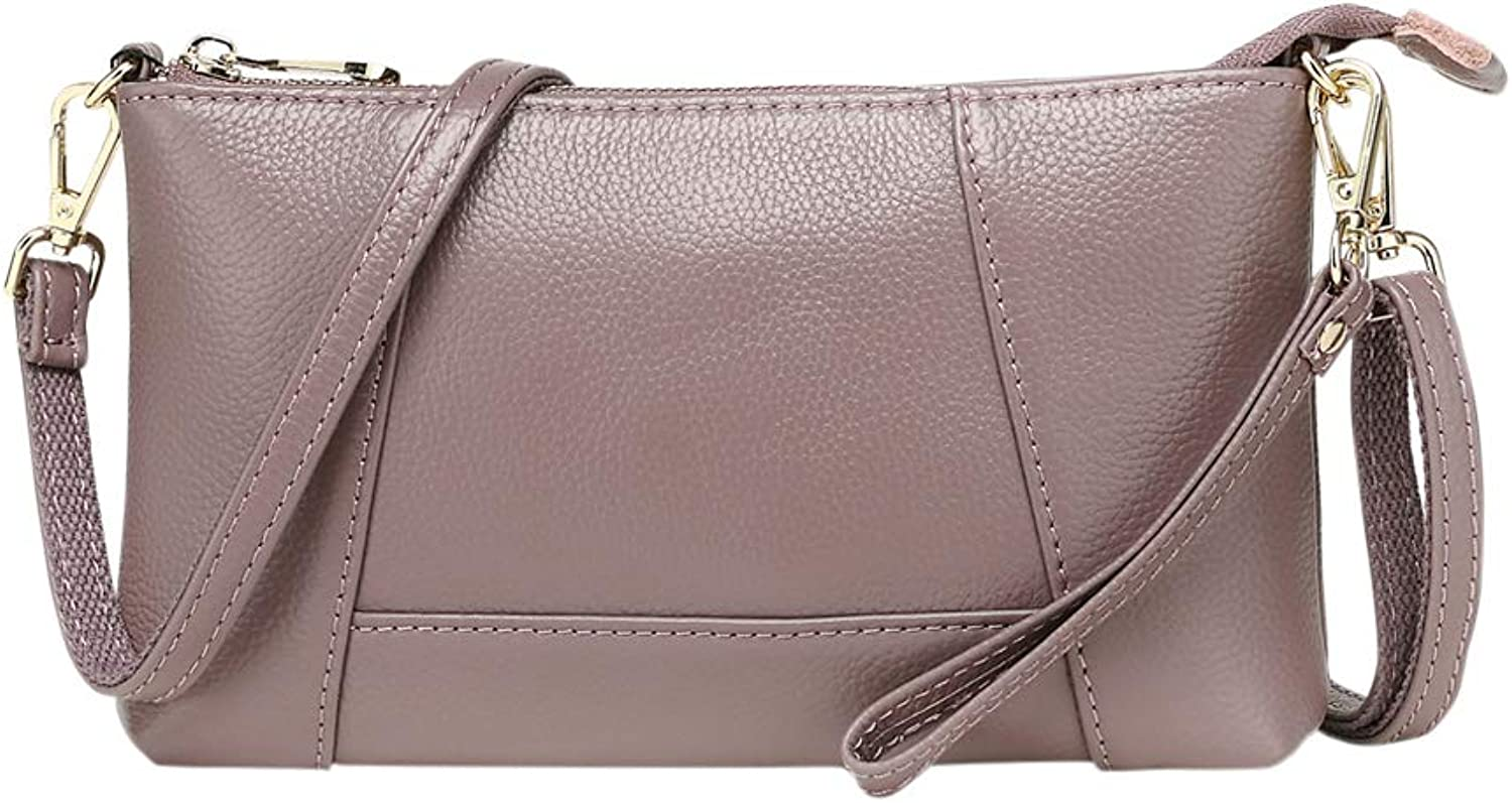 Genda 2Archer Mini Crossbody Bag Leather Clutch Wristlet Bag