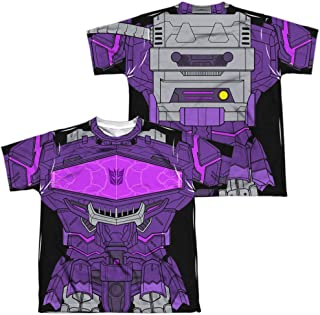 Transformers Shockwave Costume Youth or Boy's Sublimated T Shirt
