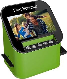 """Escáner de Diapositivas y Negativos con 4.3"""" LCD TFT, para Super-8, 35 mm, 110 mm y 126 mm Negativos y Diapositivas, Digit..."""