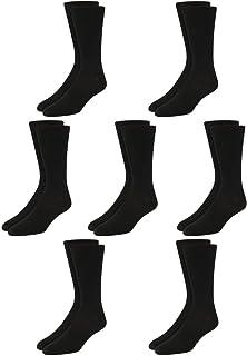 Van Heusen Men's Dress Socks - Lightweight Mid-Calf Crew Dress Socks (7 Pack)