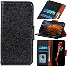 For Oppo K1 Case, Strong Magnetic Closure Leather Wallet Case with Card Holders and Kickstand for Oppo K1 (Color : Black)