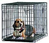 Savic - Cottage - Cage de transport pour chien - Noir poudré - 91 x 57 x 62 cm