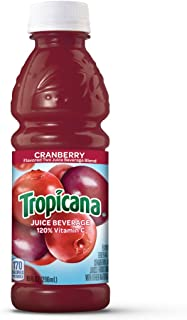 Tropicana Cranberry Cocktail Juice, 10 Ounce (Pack of 24)