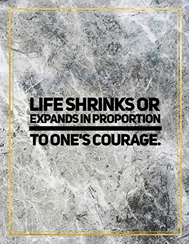 LIFE SHRINKS OR EXPANDS IN PRO