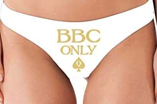 597856bbff1f Knaughty Knickers BBC Only Queen of Spades for Big Black Cock Thong Panties
