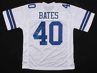 Bill Bates #40 Signed Jersey (TriStar Hologram) Dallas Cowboys