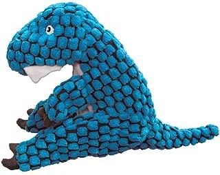 KONG Dynos T-Rex Blue Dog Toy
