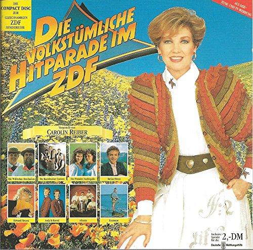 Die volkstümliche Hitparade im ZDF 1991.