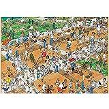 HYLLVC 1000 Piezas de Rompecabezas para Adultos Tennis Court Puzzle de 1000 Piezas para Adultos y niños Anime Juego Familiar cooperativo desafiante y Divertido (52x38cm)
