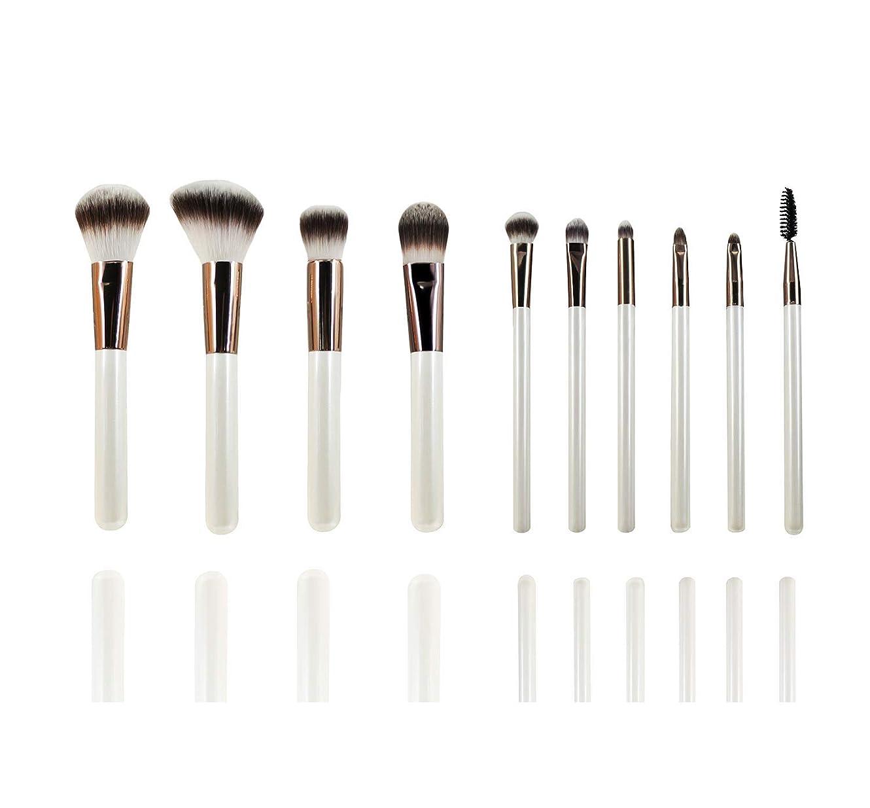 からに変化する専門化する資格10本セット 化粧筆 フェイスブラシ 高級メイクブラシ超柔らかい 可愛いアイシャドウブラシ 化粧ブラシ