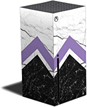 Película MightySkins compatível com Xbox Series X – Mármore geométrico | Capa protetora, durável e exclusiva de vinil | Fá...