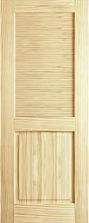 Louver Panel Door, Kimberly Bay Interior Slab Clear (80x32)