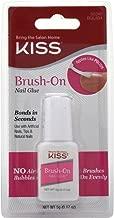 Kiss Lightning Speed Brush On Nail Glue - 2 per case.