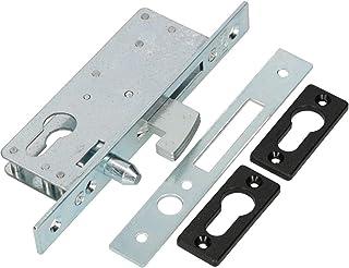 KOTARBAU® haakslot schuifdeuren insteekslot H-50 geleidepen schuifdeurslot haakvalslot verzinkt corrosiebestendig afsluitp...