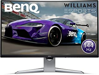 BenQ 32 inch 144 Hz Curved Gaming Monitor ( EX3203R ), 2K QHD, FreeSync 2, Display HDR 400, B.I. Plus Sensor, USB-C