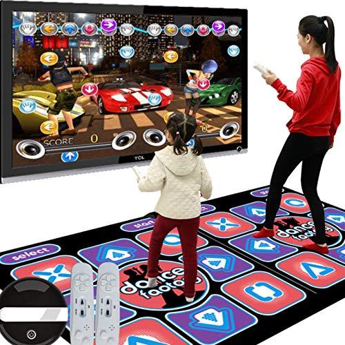 Drahtlose USB-Tanzschritt-Tanzmatte Musikalische Spielmatte mit USB- und HDMI-Kabel,...