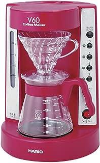 HARIO V60 珈琲王コーヒーメーカー 2~5杯用 ワインレッド EVCM-5WR