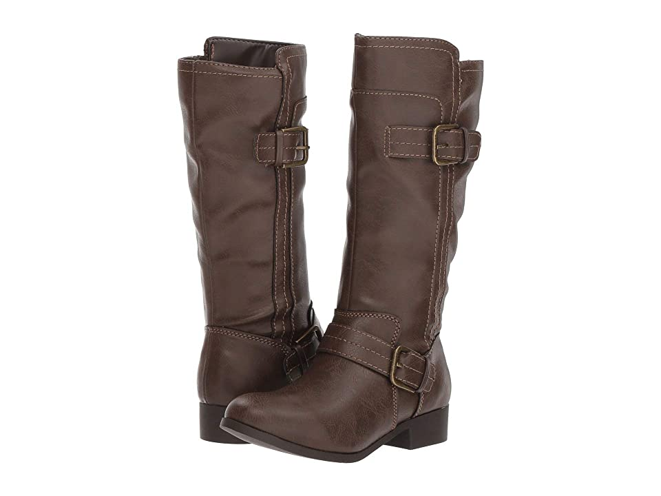 Nine West Kids Sahira (Little Kid/Big Kid) (Dark Brown Smooth) Girls Shoes