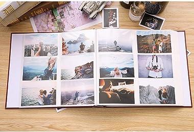 DQY Gros Album Photo Mignon, Album Photo 5/6/7 Pouces, Peut Contenir 800 Photos, Album Photo Commémoratif Interstitiel Famili