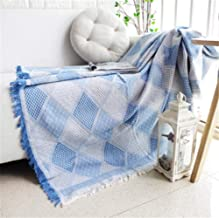 Colorful Geometry Throw Blanket Sofa Decorative Slipcover Sofa Bed Plaid Towel Blanket Non Slip Stitching Blankets