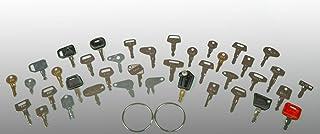 Keyman 39 Heavy Construction Equipment Ignitiont Key Set