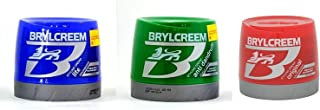 Brylcreem Aqua-Oxy Hair Styling Cream Original+Lite+Anti Dandruff (250 mL Each) Combo Pack