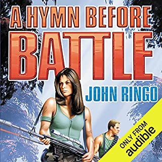 A Hymn Before Battle audiobook cover art