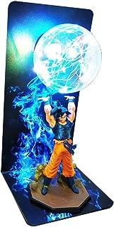 QINGQING Las Cifras de Noche LED de luz de lámpara de Dragon Ball Z Goku de acción for el Regalo del Juguete de los niños
