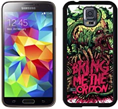 Durable and Nice Galaxy S5 Case,Durable I9600 Case Design with Bring Me The Horizon Samsung Galaxy S5 SV I9600 Case in Black