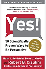 Yes!: 50 Scientifically Proven Ways to Be Persuasive Capa comum