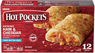 Nestle Hot Pockets Ham and Cheese Sandwich, 4.5 Ounce - 12 per pack -- 6 packs per case.