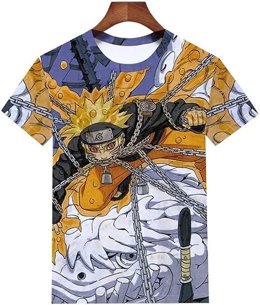 Camiseta de manga corta Naruto de Naruto Kurama, de Naruto ...