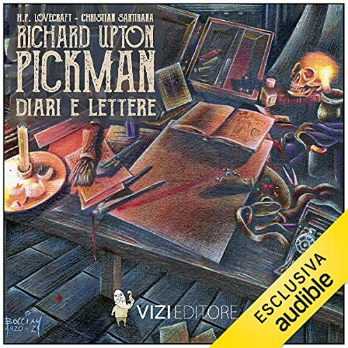 RICHARD U. PICKMAN - Diari e lettere copertina