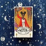 HXGLPSNG Nuevas Cartas de Tarot, baraja de oráculos, baraja de Tarot de Bruja Moderna de adivinación misteriosa para Mujeres y niñas Juego de Cartas Juego de Mesa