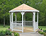 Creekvine Designs 10' Vinyl Gazebo