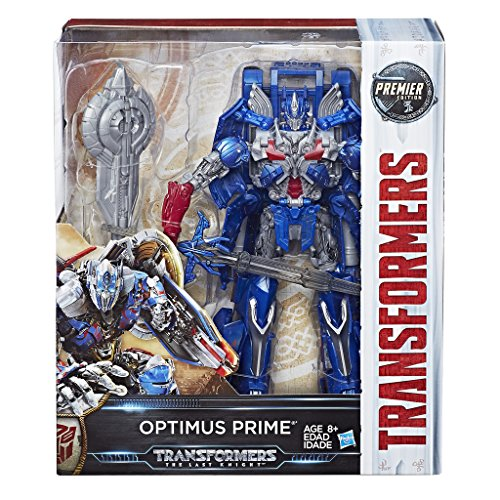 Hasbro C1339 Transformers Premier Edition Optimus Prime The Last Knight Figur ca. 25 cm. lang