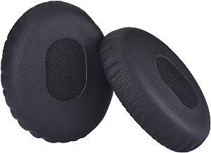 Bingle padiglioni auricolari per cuffie BOSE On-Ear//OE1/QC3/OE/ 1PAIR nero /Sostituzione cuscinetti auricolari in memory foam cuscino imbottito per Bose QUIETCOMFORT3/