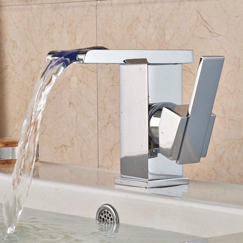 Wasserhhne Waschtischarmaturen Led Wasserhahn Leuchtend Wasser Drachen Doppelhahn