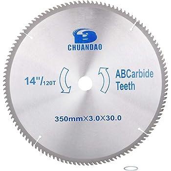 "14/"" 40~120T Carbide Circular Saw Blade 60 Teeth Cutting Disc for Wood 30mm Bore"