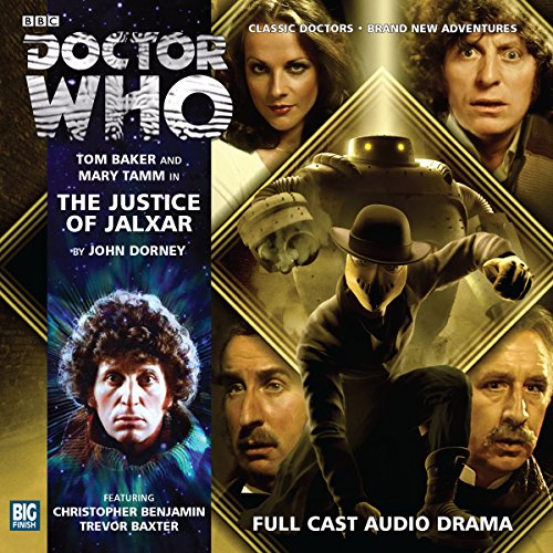 Doctor Who - The Justice of Jalxar cover art