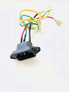 Power Entry Module 003363-00 Works with AFG Horizon Livestrong Smooth Residential Treadmill