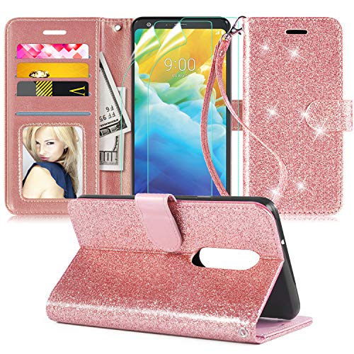 LG Stylo 5 Leather Bling Case by Innge