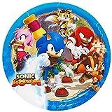 CISL Tortenaufleger Tortenfoto Aufleger Foto Sonic (7) rund ca. 20 cm *NEU*OVP*