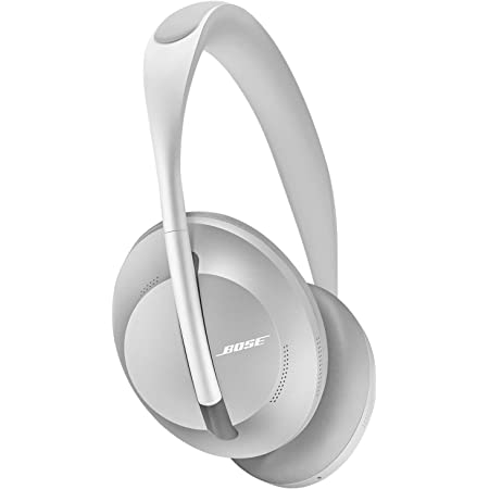 Bose Noise Cancelling Headphones 700 — Over Ear, Wireless Bluetooth Headphones with Built-In Microphone for Clear Calls & Alexa Voice Control, Silver Luxe